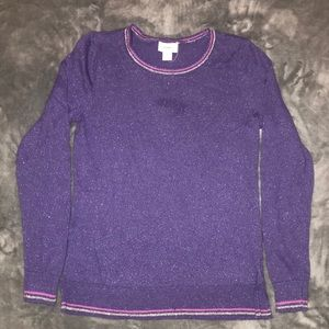 Like NEW, NEVER WORN Old Navy Jr's Purple Sweater